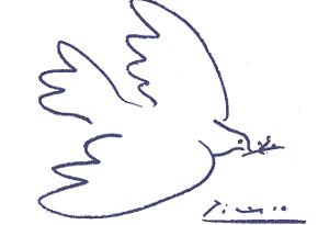picasso dove as a symbol of peace