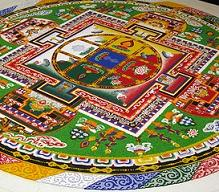 symbols and signs: meaning of mandala sand mandala in tibet