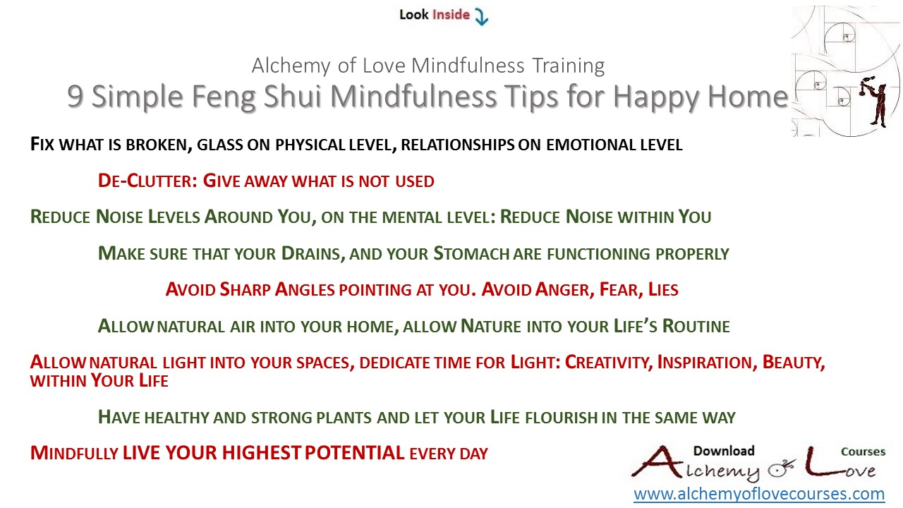 personality questionnaire home, 9 simple feng shui mindfulness tips for happy home