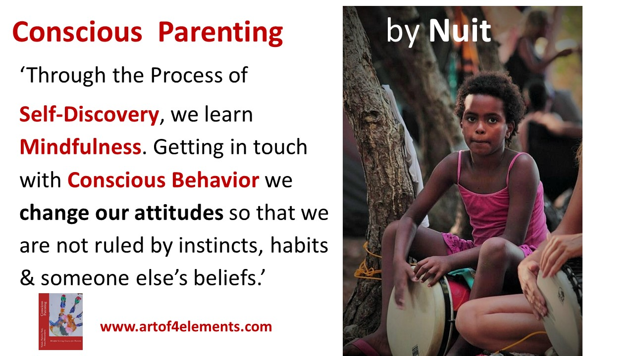 Conscious Parenting by Natasa Pantovic Nuit kids and mindfulness training