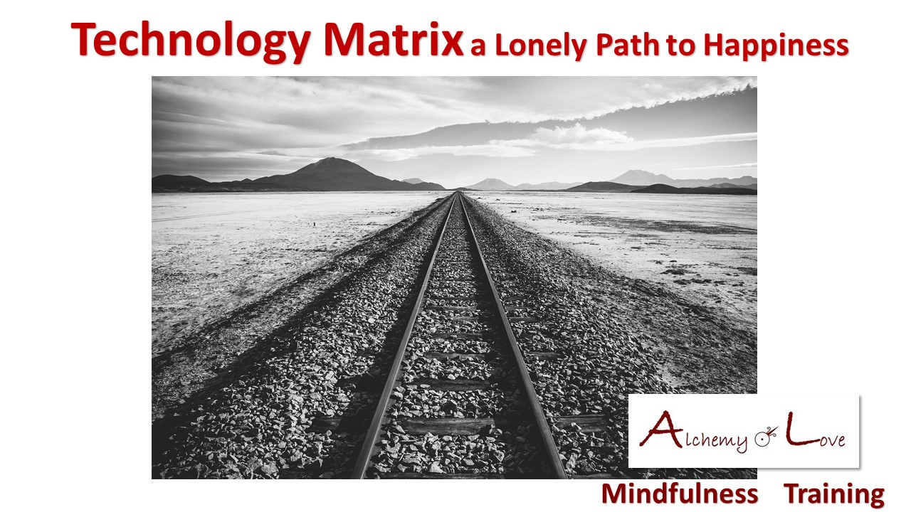 Mindful Being Course by Nataša Pantović technology matrix lonely path to happiness