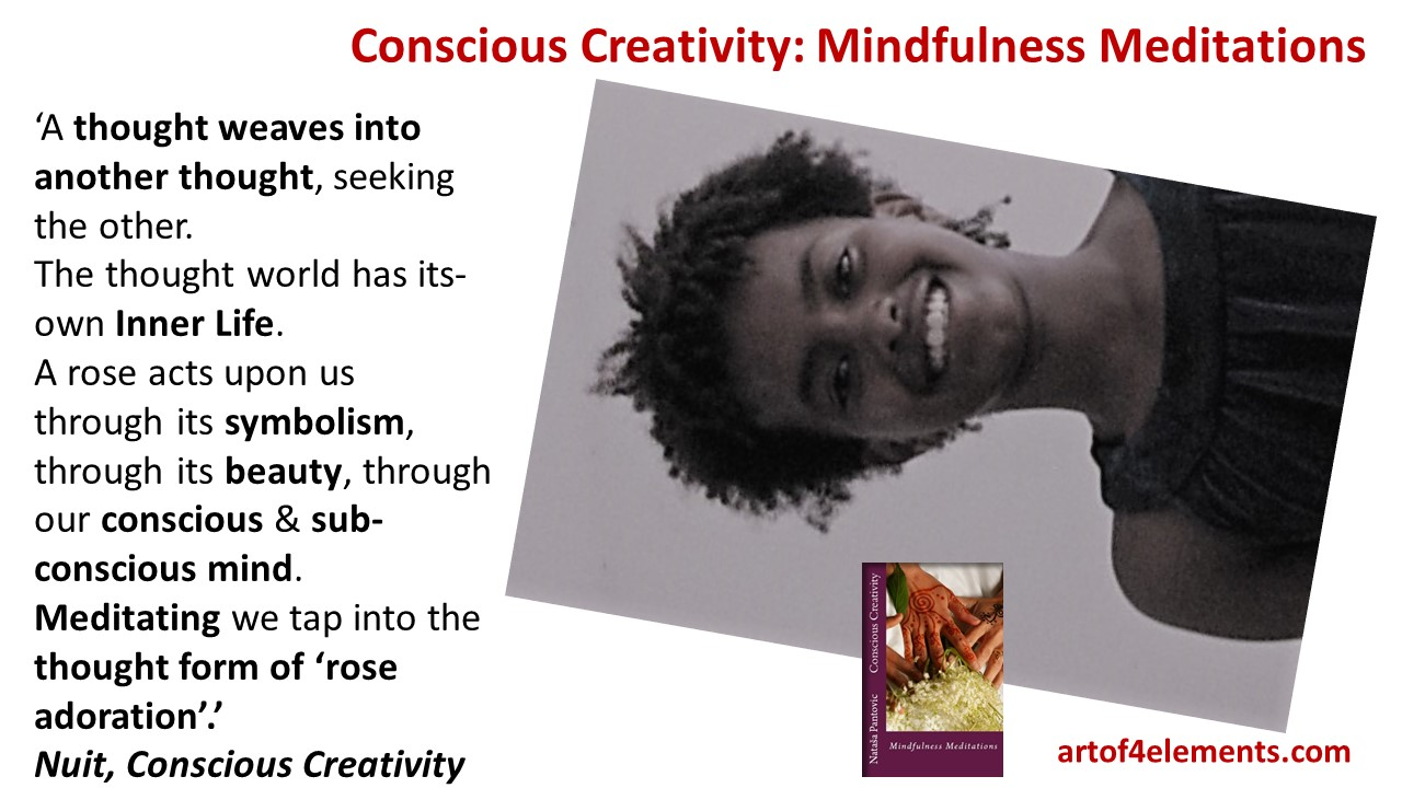 What is meditation from Conscious Creativity Mindfulness Meditation Book by Natasa Pantovic