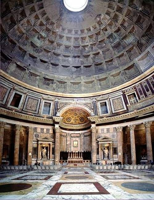 Pantheon Hadrian 124 AD Rome Ancient Italy