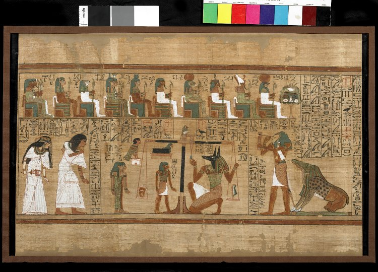 papyrus Ani British Museum Ancient Egypt collection New Kingdom