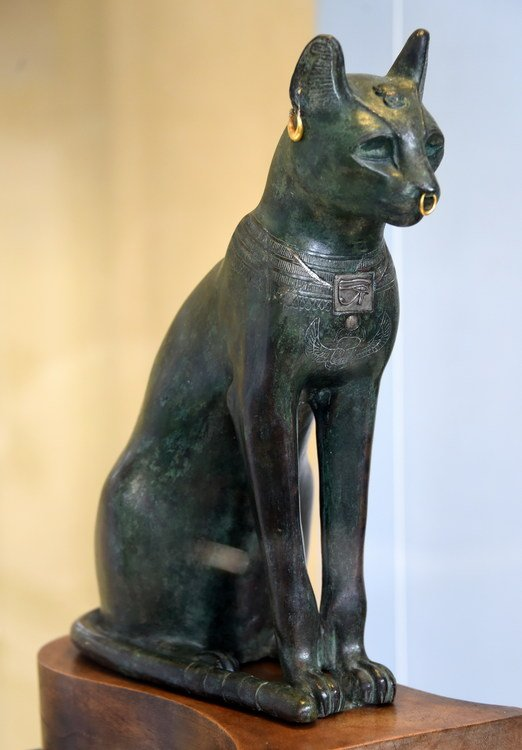 Bastet Around 600 BC from Saqqara Egypt The British Museum London