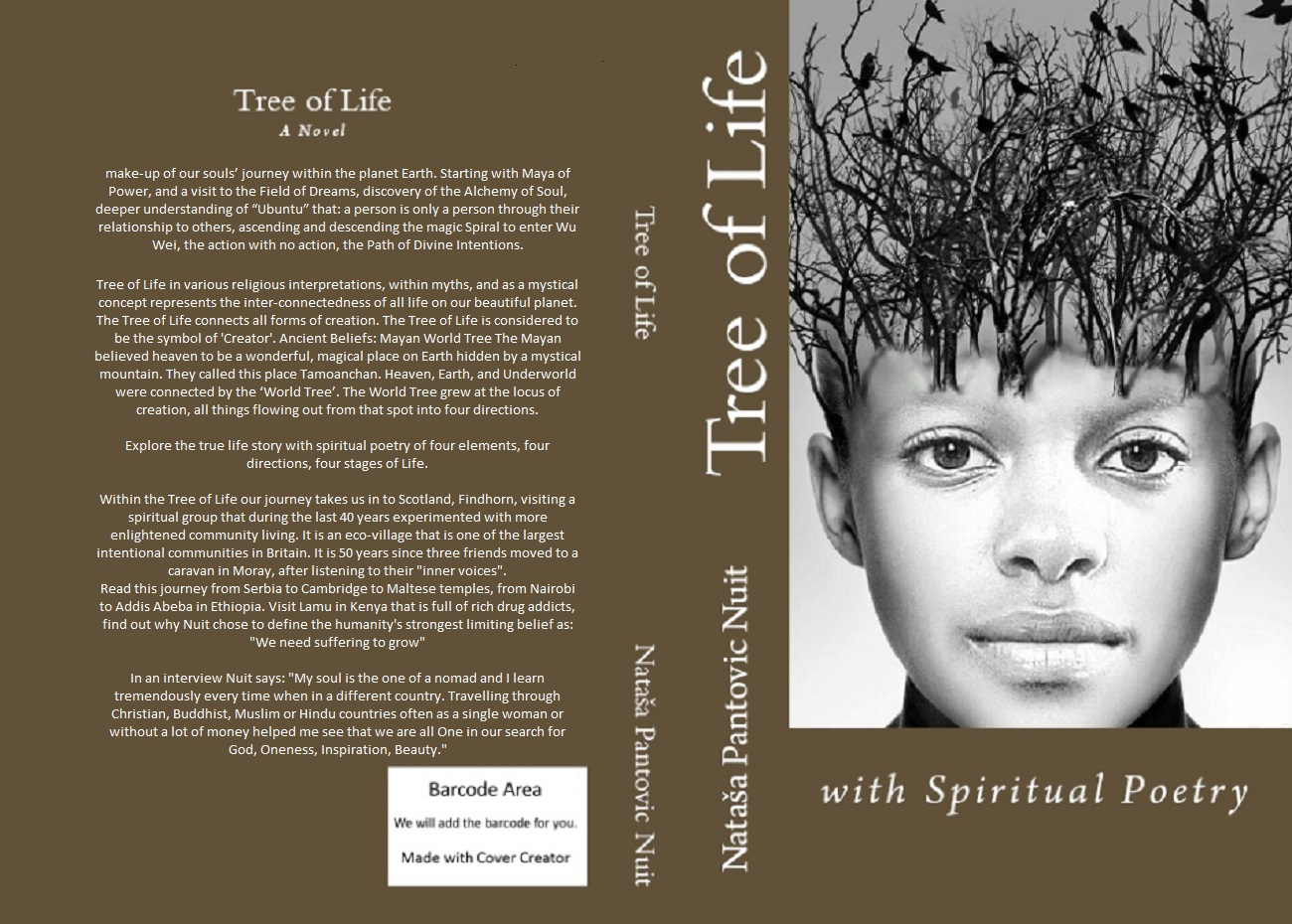 Tree of Life: a Journey into the Field of Dreams by Nataša Pantović Book Cover