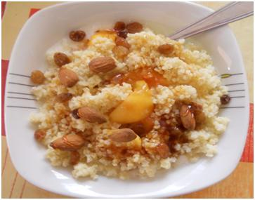 easy healthy recipe millet porridge