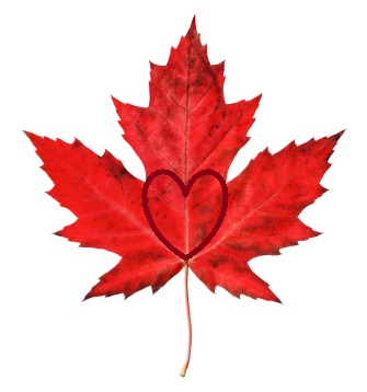 symbols of love maple leaf