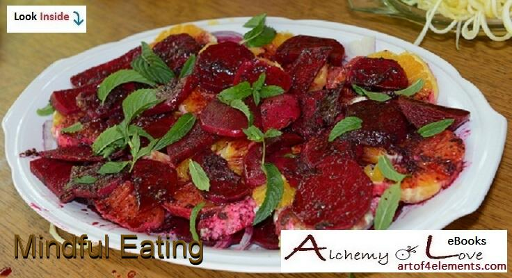 real food vegetarian beetroot salad