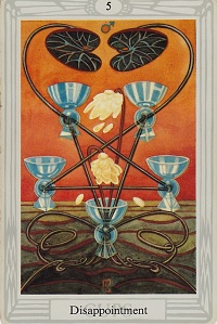 Spiritual Meaning of Numbers, Symbolism of number five Crowley Tarot Card