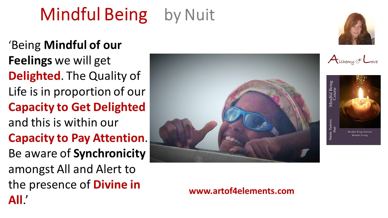 Mindful Being Course quote by Nuit developing kids love