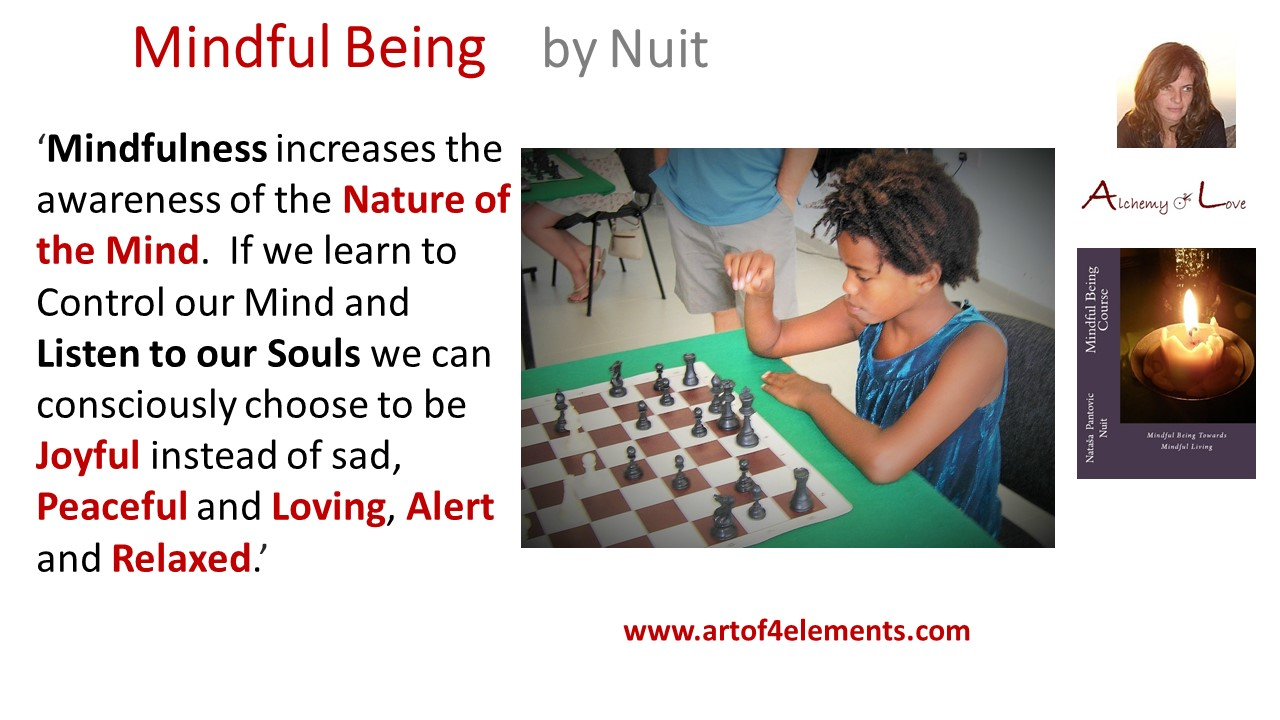 Mindful Being by Nuit Quote about soul