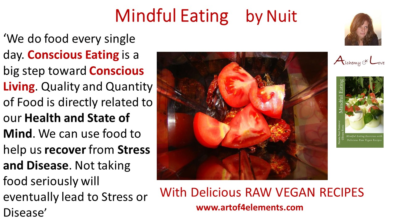 yin and yang of foods. mindful eating conscious living quote