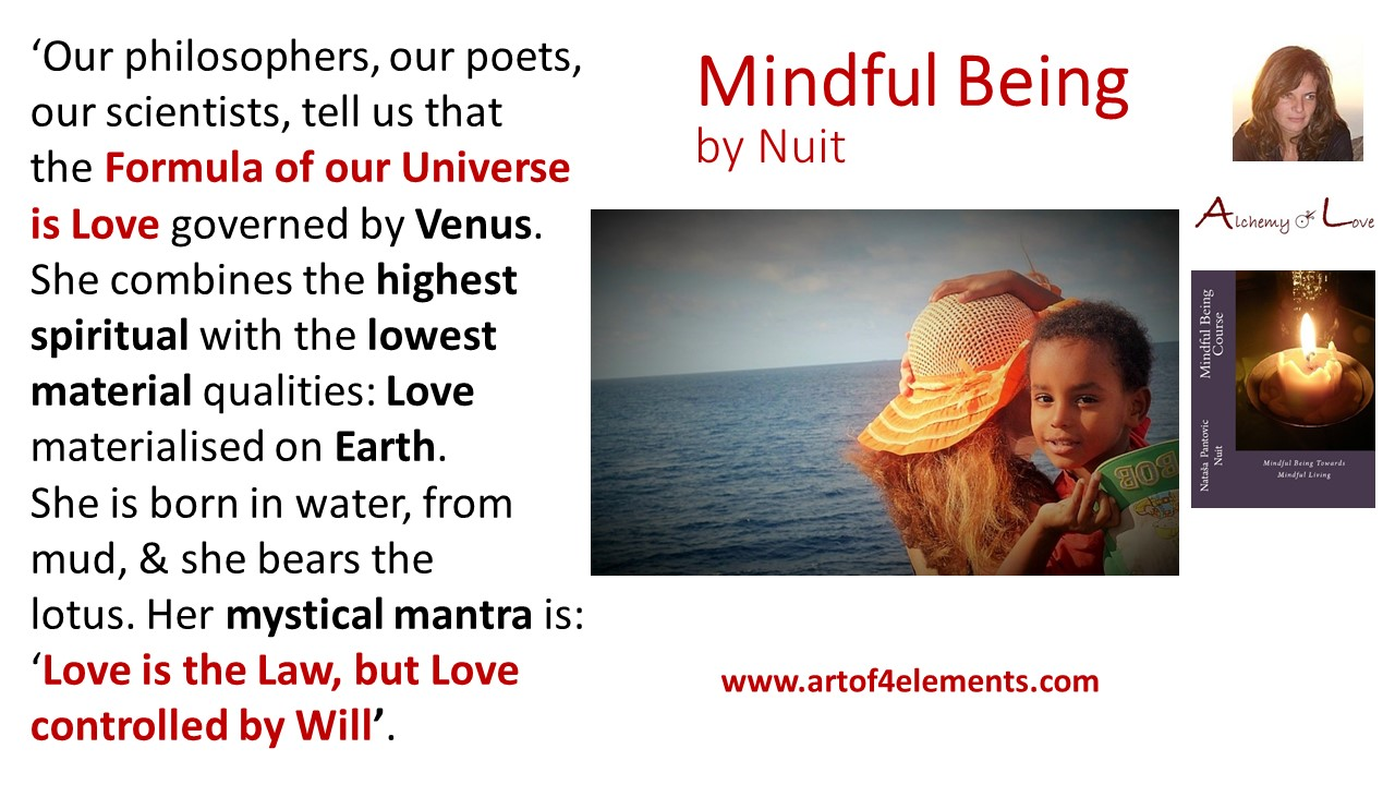 What is unconditional love Mindful Being by Nuit Quote about love