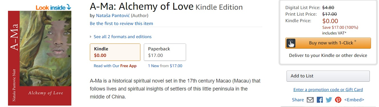 Happy Thursdays Ama Alchemy of Love Spiritual Novel Free on Amazon