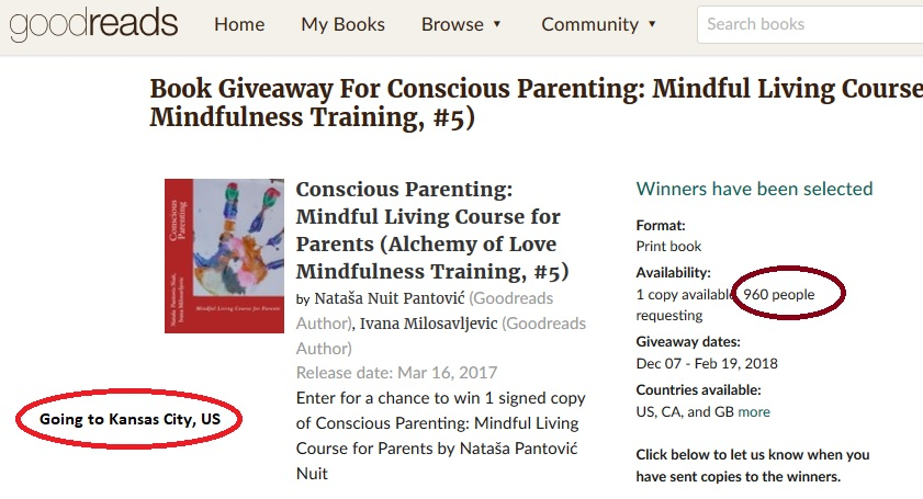960 conscious parents requested Conscious Parenting signed book