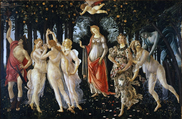In search of perfection la Primavera Botticelli