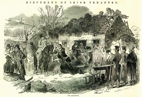 Extracts from the Illustrated London News showing the situation in Ireland 1847-51