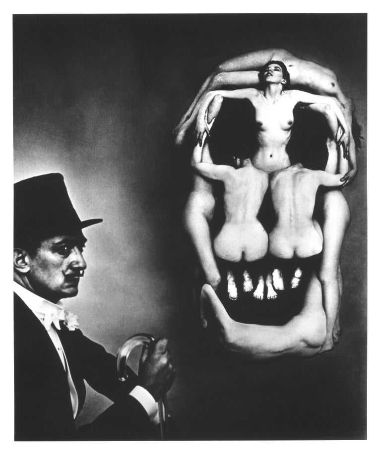 Voluptas Mors or Voluptuous / Desirable Death, 7 Women forming a human skull for Salvador Dali's 1951 photo-shoot